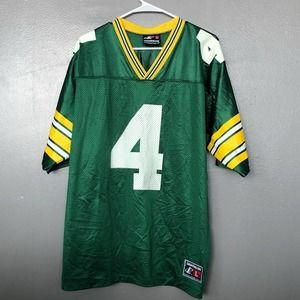 VTG Logo Athletic Green Bay Packers Jersey Favre
